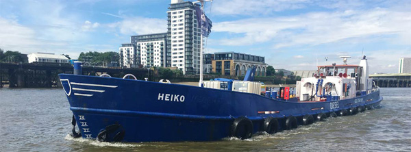 Thames Marine Services – Heiko Barge