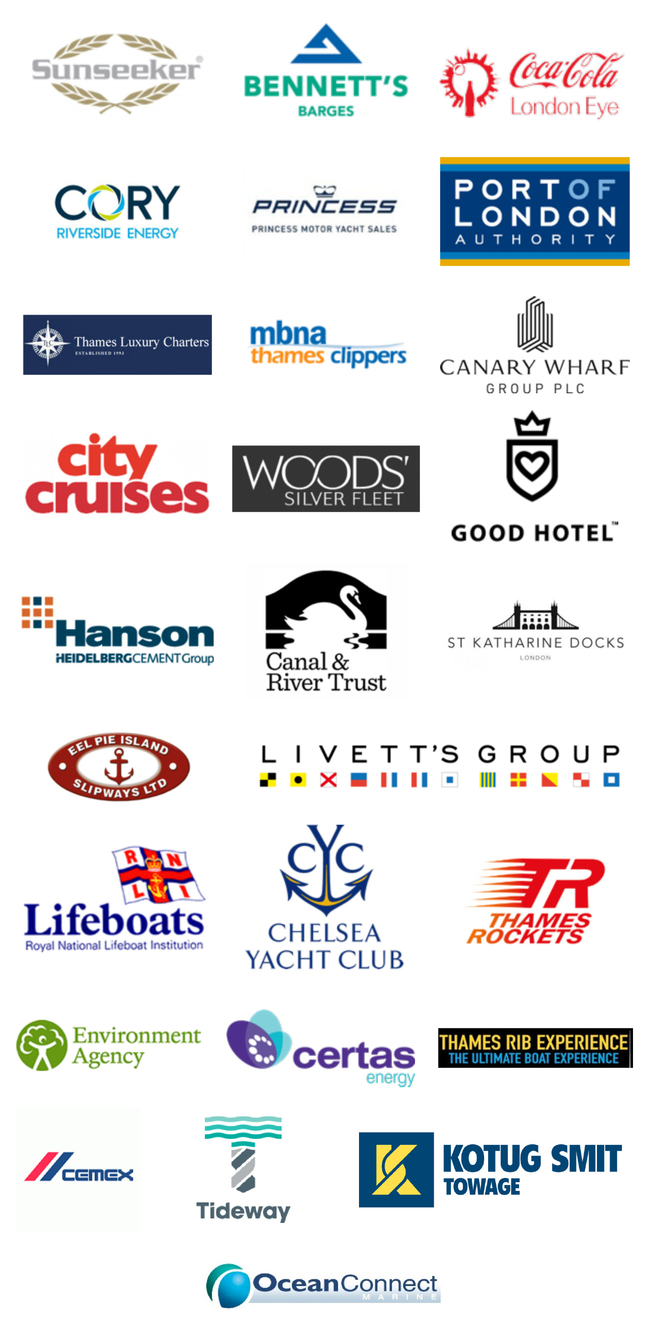 Thames Marine Services Partners 2018