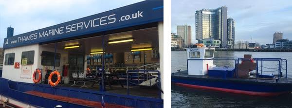 Thames Marine Services – Freddie & Gunn