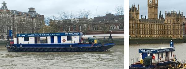 Thames Marine Services –Thames Refueller