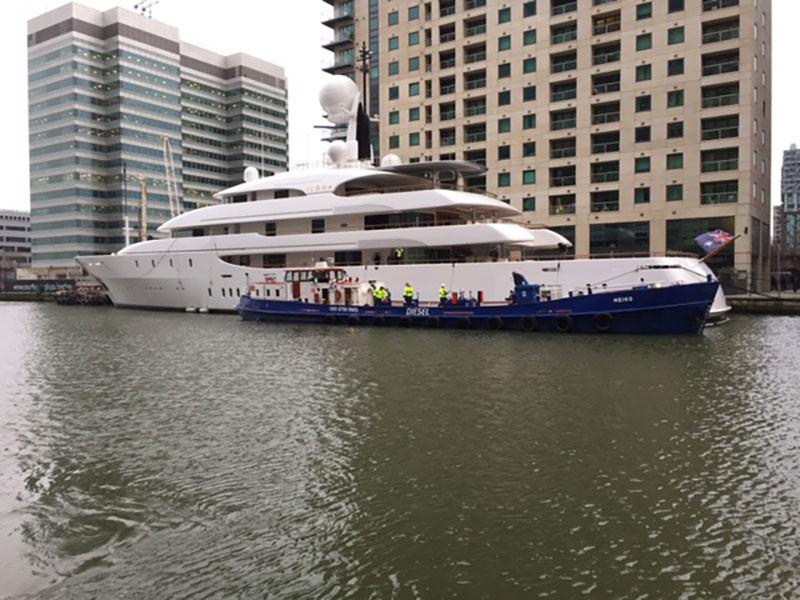 MY Ilona St Kats - Thames Marine Services