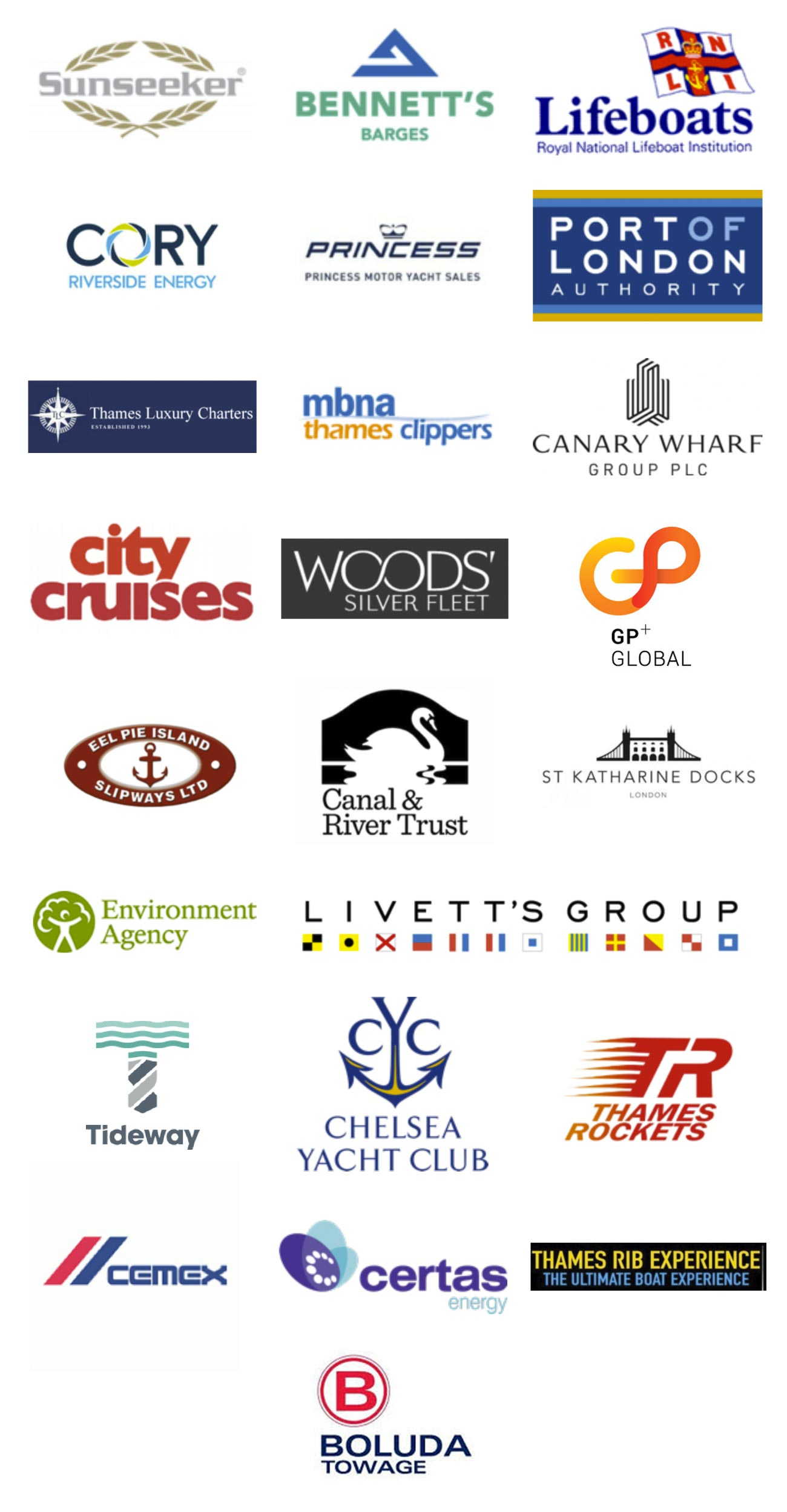 Thames Marine Services Partners 2019
