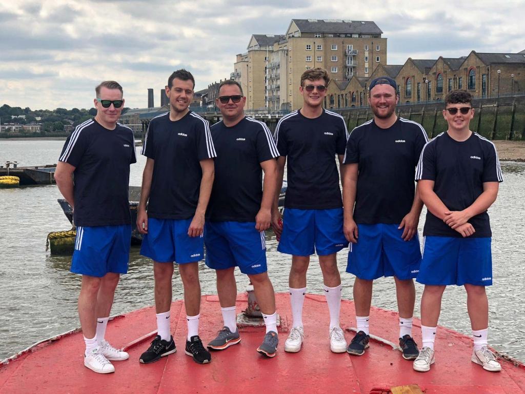 Thames Marine Services crew